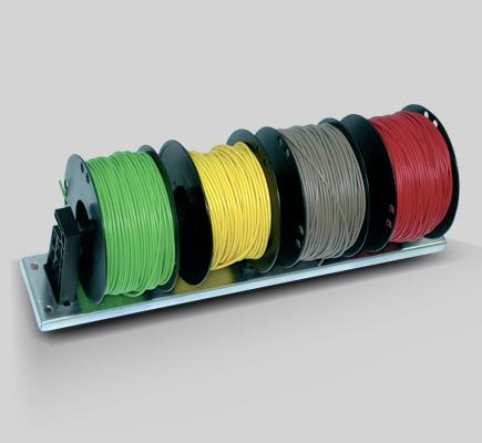 supporto muro cavi elettrici bobine