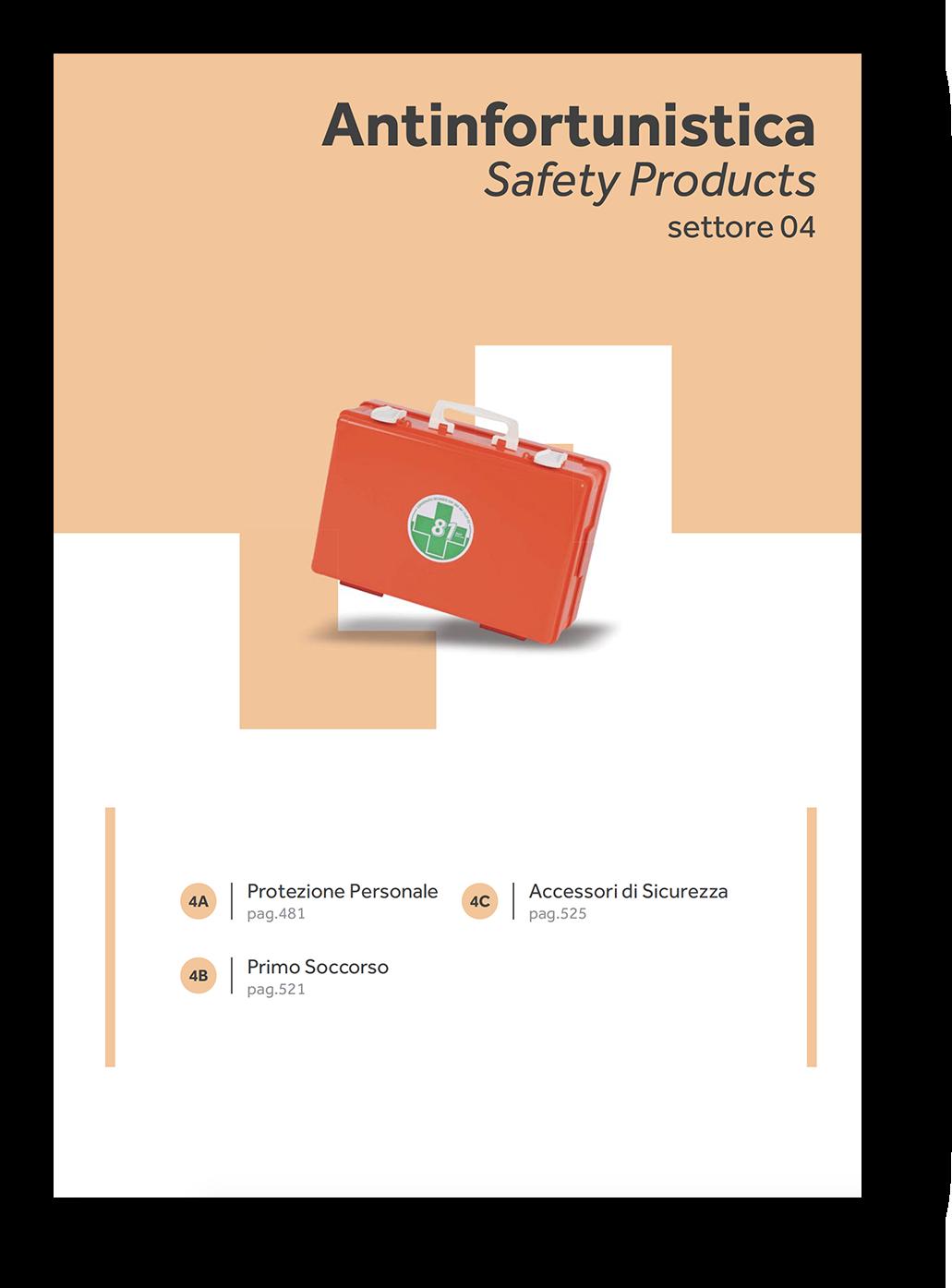 primo soccorso sicurezza protezione personale catalogo