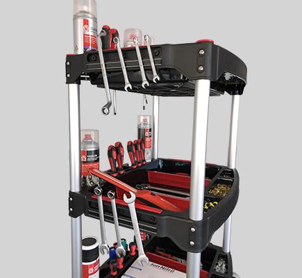 carrello modulare attrezzatura officina lavoro