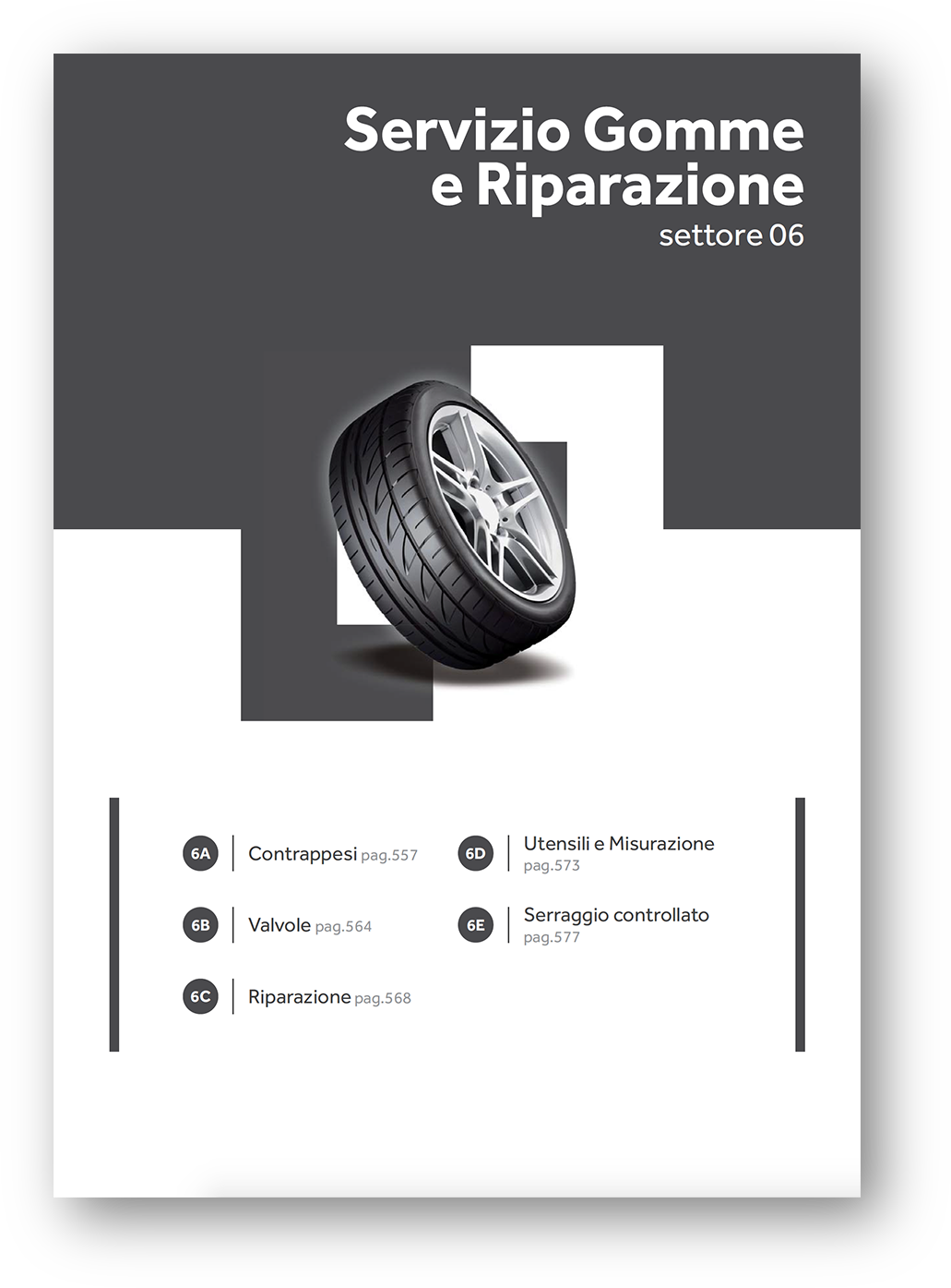 riparazione pneumatici gomme sostituzione catalogo