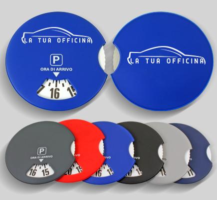 disco orario personalizzabile auto pvc