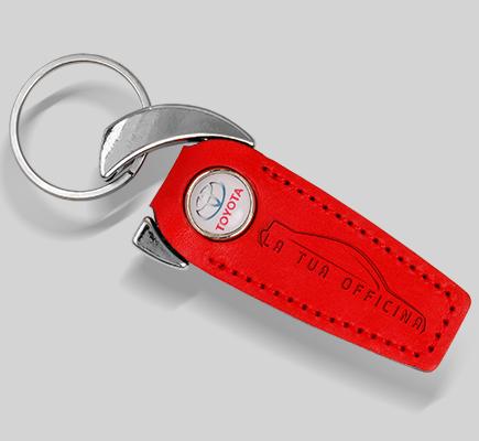 portachiavi bottone personalizzabile logo officina