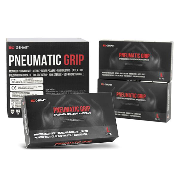guanti alto spessore maggiorato pneumatic grip