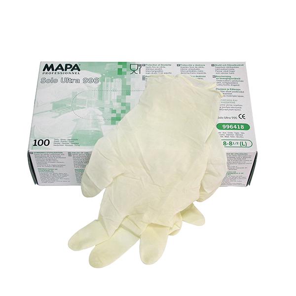 mapa guanti protettivi nitrile antisudore confezione
