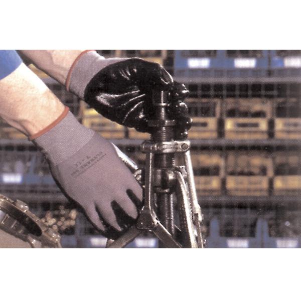 guanto professionale officina rivestito nitrile