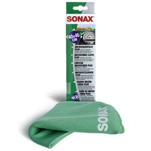 sonax panno microfibra vetri pulizia