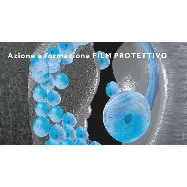 protettivo film submicronico azione antiusura