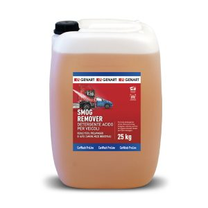 detergente acido rimuovi smog lavaggio