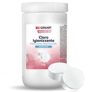 igienizzante cloro pastiglie pulizia monodose
