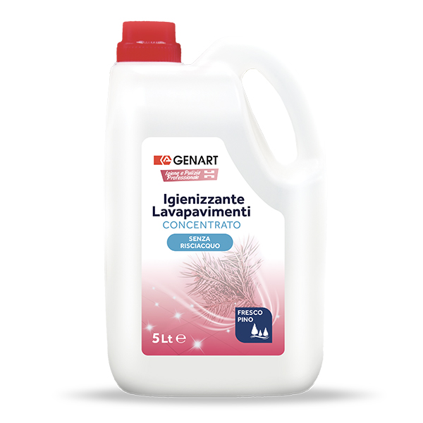 detergente igienizzante lavapavimenti senza risciacquo
