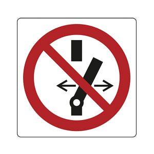 cartello vettura denergizzata segnalatore magnetico