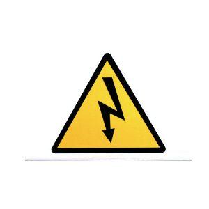 segnalatore pericolo alta tensione cartello