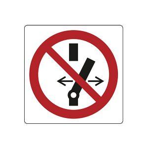 cartello divieto vettura denergizzata segnaletica