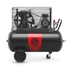 compressore monofase 90 lt trasmissione cinghia