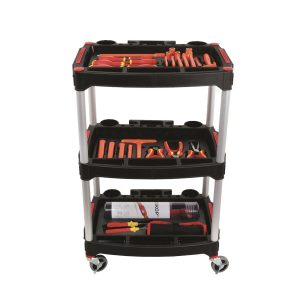 carrello cassetti porta utensili minuteria termoformati