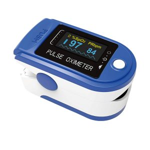 pulsossimetro saturimetro digitale misura ossigeno